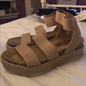 Steve Madden Kimmie Blush Sandals